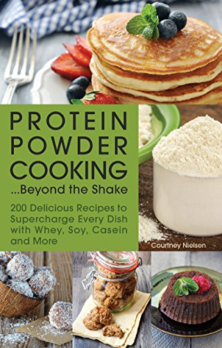 Protein Powder Cooking...Beyond the Shake: 200 Delicious Recipes to Supercharge Every Dish with Whey, Soy, Casein and More (English Edition)