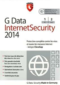G Data internet security 2014 (1 poste, 2 ans)