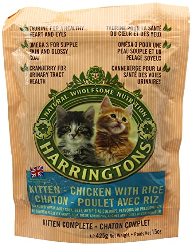 HARRINGTONS Kitten Food Complete 425 g, Pack of 5 2