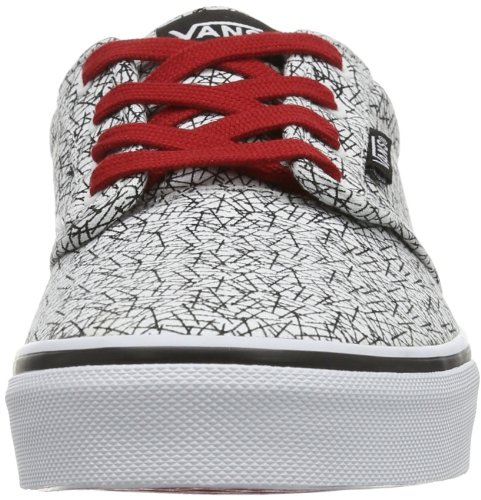 Vans Y ATWOOD VUDTAW3 Unisex-Kinder Sneaker Mehrfarbig (white)