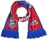 adidas Herren Schal FC Bayern München 3-Streifen, true red/white/collegiate royal, one size, M60163