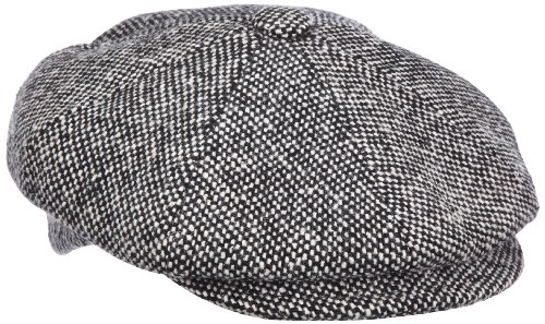 Bailey of Hollywood Chapeau  Adulte mixte Noir - Schwarz (black tweed)