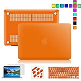15-inch Macbook Pro Case,5 in 1 Rubberiz...