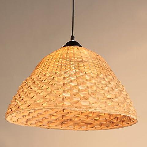 Wandun Fatti A Mano Creativo Semplice Bambù Bambù Lampada