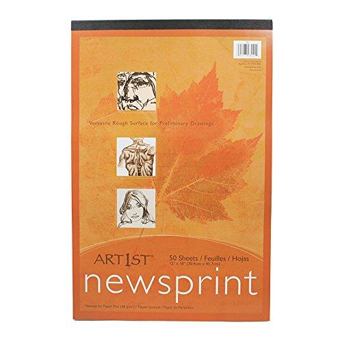 art1st-newsprint-pad-12x18-50-sht