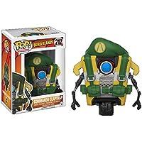 Funko - Figurine Borderlands - Clap Trap Black Commando Exclu Pop 10cm - 0889698143578