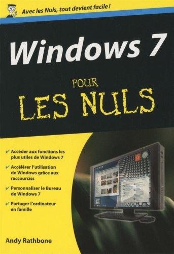 WINDOWS 7 POCHE POUR LES NULS