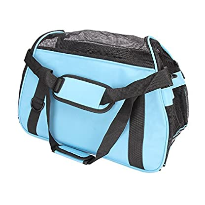 Dromedary Portable Pet Carrier Airline Approved Travel Crate Tote Puppy Handbag For Pet Dog Cat 5