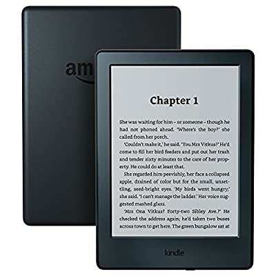 """All-New Kindle E-Reader, 6"""" Glare-Free Touchscreen Display"""