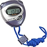 #3: Inditradition Multi-Feature Digital Stopwatch with Timer & Alarm | for Sports, Study, Camping, Fun (Waterproof, with Holding Rope)