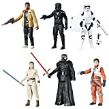 Star Wars Figuren Set 6er Pack Saga Battle Pack Hasbro CO496EU5 Episode 7 Charaktere TO
