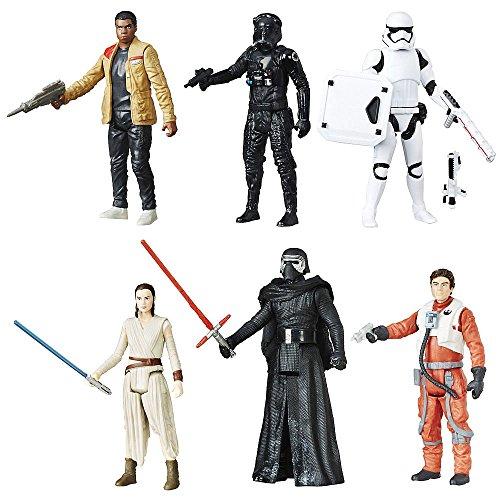 Star Wars Episode VII Action Figure 6er-Pack 2016 Battle Pack Exclusive 10 cm Hasbro Figures