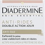 Diadermine - Soin Essentiel - Anti-age, soin anti-rides double action, réduit les rides et renforce la fermeté de la peau - Le pot de 50ml - Prix Unitaire - Livraison Gratuit Sous 3 Jours