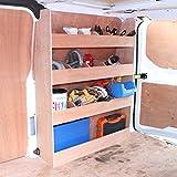 Monster Racking Ford Transit Fahrzeugeinrichtung Fahrzeugregal Werkstattwagen Sortiersystem Werkzeugaufbewahrung Regal Holzregal Autoregal Werkstattregal 102cm x 30cm x 136cm