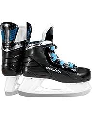 Bauer Niños Patines Prodigy de serie para Kids Hockey sobre Hielo Patines, todo el año, color negro, tamaño medium