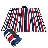 SHUIZAI Picnic Blankets 190x200CM Waterproof Folding Picnic Mat Outdoor Camping Beach Moisture -Proof Blanket Portable Camping Mat Wandern Strand Pad 150x200cm/Beige