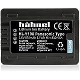 Hähnel HL-Y100 Batterie pour Caméra Panasonic Noir