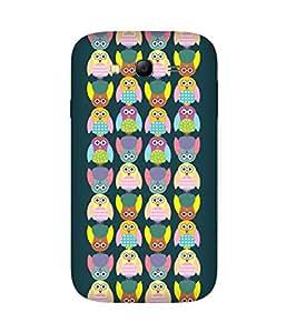 Stripes And Elephant Print-13 Samsung Galaxy Grand 3 Case