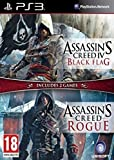 Nordic Import PS3 Assassins Creed Rogue & Black Flag Doppelpack auf Deutsch spielbar