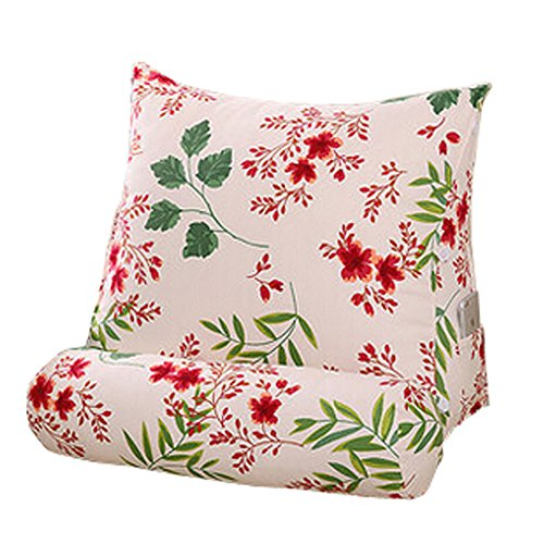 Home / Office Triangle Soutien lombaire Coussin dossier Oreiller, O