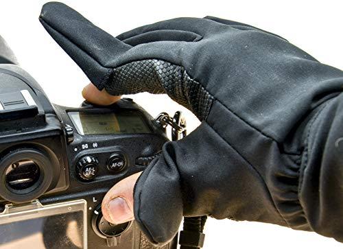 PROtastic - Guantes Dedo fotógrafos 2 Unidades, operar