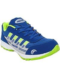 Arexon Men's Synthetic Blue Colored Sport Shoe( Men's Running Shoe, Breathable Sports Shoe, High Grip Sports Shoe... - B074Q1ZK41