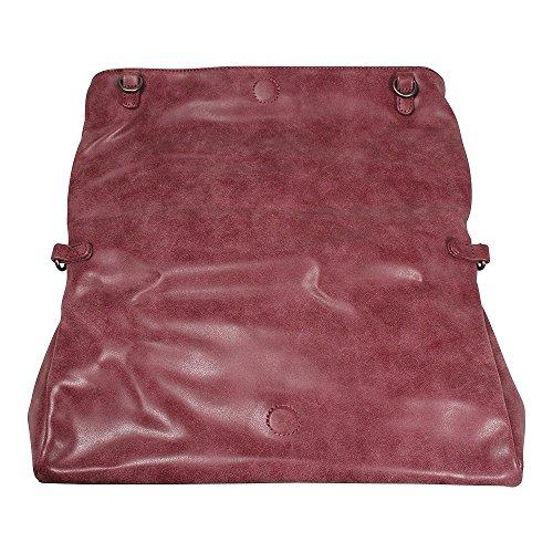 Fritzi aus Preußen Smilla Vintage Borsa a tracolla 42 cm Rosso