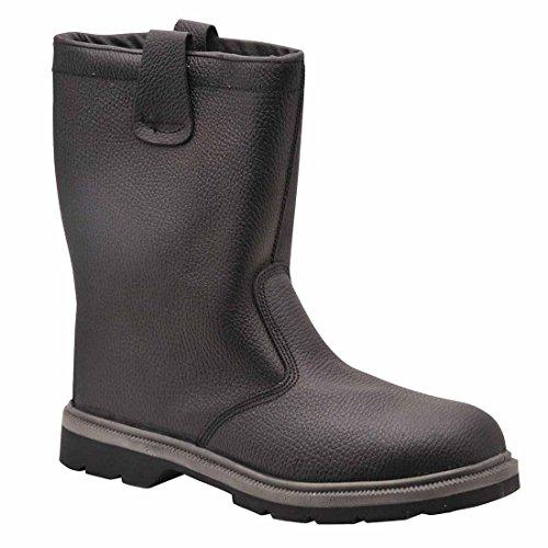 SUW–Steelite Rigger Workwear Knöchel Sicherheitsstiefel S1P CI HRO, EU 38 - UK 5, schwarz, 1 schwarz