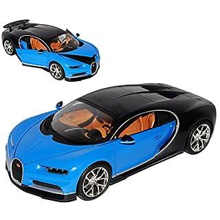 alles-meine.de GmbH Bugatti Chiron Blue From 20161/18Bburago Modell Auto