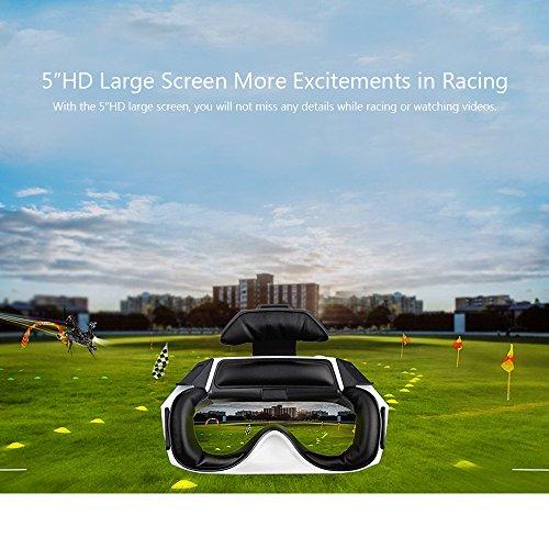 Goolsky Walkera Goggle 4 FPV Live Übertragung 40CH Luft videobrille mit Doppelempfangsantennen 5
