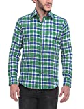 FASH-A-HOLIC Green Casual Shirt (F-107-G...