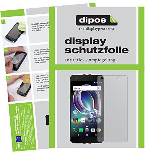 dipos I 2X Schutzfolie matt passend für Alcatel Idol 5s Folie Displayschutzfolie