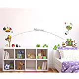 Creatick Studio 'Home Decor' Decorative 'Wall Stickers For Bedroom Kitchen'(Angry Birds PVC Vinyl,74 CM X201 CM)