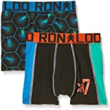CR7Cristiano Ronaldo garçon engan Liegende Boxers Line Trunk Lot de 2