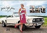 Pin Up Pia & Mustang '67 (Wandkalender 2019 DIN A2 quer): Monatskalender mit herrlichen Pin-Up-Fotos rund um Pia und den edlen weißen 1967er Mustang. (Monatskalender, 14 Seiten ) (CALVENDO Mobilitaet)