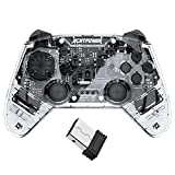 ECHTPower Controller per Nintendo Switch, PS3, PC, Xbox 360 e Android Bluetooth Wireless Controller con controllo del movimento Vibration Turbo Funtion Ricaricabile Controller per MultiPiattaforma