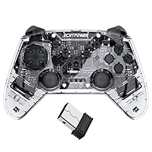 ECHTPower Wireless Controller für PS3, Wireless bluetooth Controller mit Double Shock, 6 Aschen Gyrosko und…