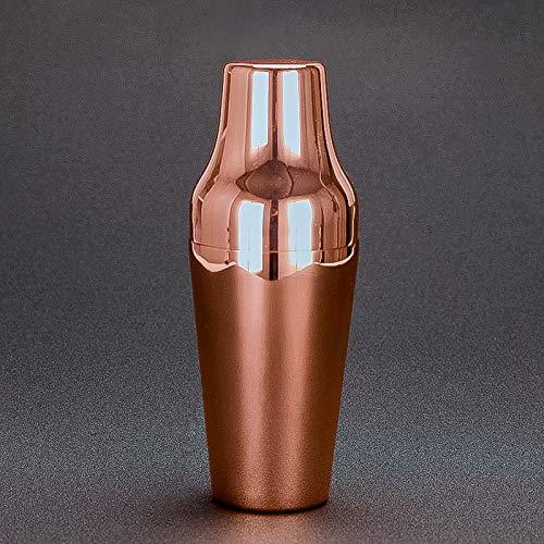 FAY 650ml Edelstahl Cocktail Shaker, Klassische und Elegante Bar Cocktail Shaker Barkeeper Bar Tool Geeignet für Familie/Bar/Küche/Barkeeper,Pink Pink Martini Shaker