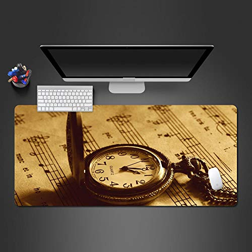 YWSZY-Mouse Pad Reloj De Bolsillo Papel Tapiz Patrón