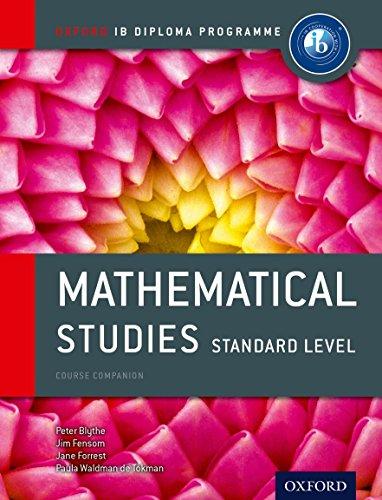 Oxford IB Diploma Programme: Ib course book: maths studies. Con espansone online. Per le Scuole superiori por Peter Blythe