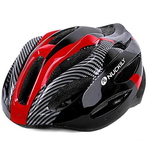 HECHEN Fahrrad Helm Mountainbike Helm Skating Helm,Red
