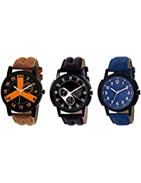 Watches For Boys New Stylish Watch/Low Price Watch/Festival/sports Watch Pack Of -3