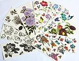 Die besten Verkauf Aufkleber - 10pcs/package heißer Verkauf Tattoo-Aufkleber verschiedenen Ausführungen einschließlich schwarz Bewertungen