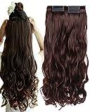 BarRan Haarverlängerung, einheitsgröße, , dunkelbraun, Stück: 1