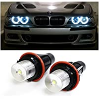de2hits LED Angel Eyes Autoscheinwerfer Headlight Xenon 5w 7000K