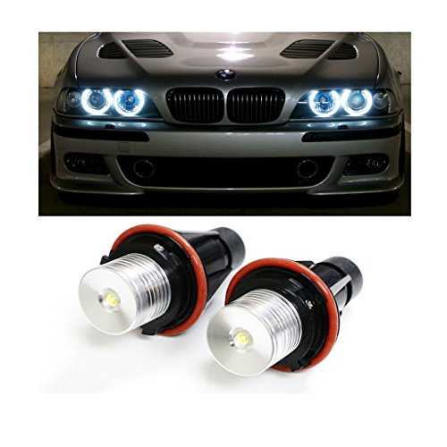 Preisvergleich Produktbild de2hits LED Angel Eyes Autoscheinwerfer Headlight Xenon 5w 7000K