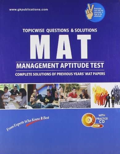 MAT: Management Aptitude Test: Topic-Wise Questions & Solutions