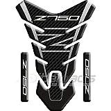 Protection Protège Réservoir adapté pour Kawasaki Z750 mod.'Nevada' tons gris