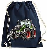 Traktor Turnbeutel Fendt Rucksack Sportbag Farbig Farbe Dunkelblau