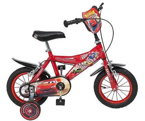 12 Zoll Kinderfahrrad Disney Cars McQueen Kinder Fahrrad Rad Jungenfahrrad